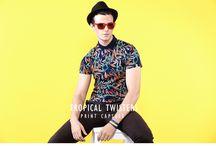 """Tropical Twisters Lookbook / """"Print Capsule"""""""