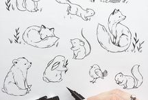 1 tattoo cute animals