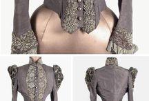 1870-1900 dresses