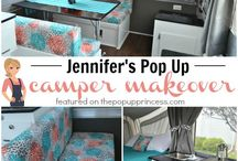 Pop up Camper remodel / by Jennifer McNamara