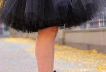 Tulle dress/skirt