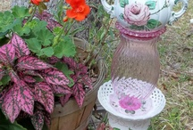 Crystal garden / Garden totems and more  / by Sandy Whelan