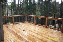 deck railing design