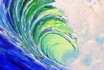 Beach water / Waves
