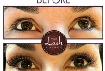 Before & Afters from The Lash Lounge