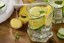 Cucumber, lemon & ginger