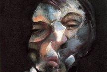 Francis Bacon / Francis Bacon foi um pintor anglo-irlandês de pintura figurativa. Seu trabalho é mais conhecido como audaz, austero, e frequentemente grotesco ou imagem de pesadelo.