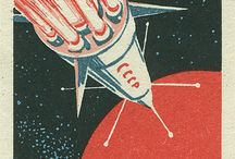 USSR Space exploration propaganda