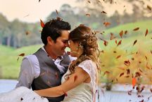 Autumn, fall wedding photos / the amazing colours of the season