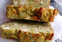 Quiche and hearty cakes