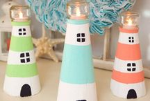 маяк DIY lighthouse