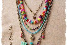 beading necklace ideas