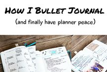 ORGANIZE: Bullet Journal - Where has this been all my life? / all about bullet journaling and how to get organized using the bullet journal system.