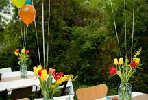 birthday party ideas / by Shanna Carlson-Rogers