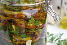 verdure sott'olio e sottoaceto
