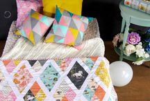 Quilts und Patchwork / Ouilts, Patchwork, Inspirationen!