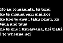 Maori learnings