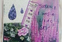 • art journal • / Inspiration for my personal art journal