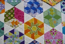 english paper piecing / by Bron