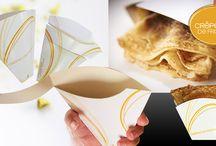 Cornets à crêpes / Les cornets à crêpes à spirale, une innovation Crêpes de France