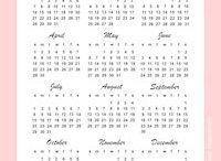 calendarul 2018