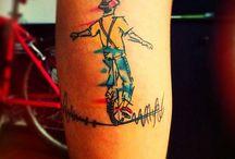 circus drawings tatoos