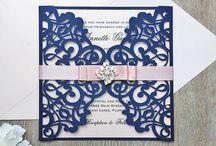 Swirls Wedding Invites