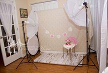 DIY photo studios & set-ups