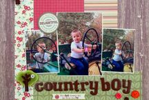 Boys -Scrapbooking / Boy themed layouts  / by Shay