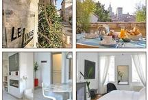 Avignon - Chambres d'hotes de Charme - Avignon Charming Guest Houses / Chambres d'hotes de Charme à Avignon - Charming Guest Houses in Avignon