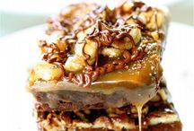 Desserts and Treats: Turtles / I love the combination of chocolate, caramel and pecans.  / by Johna