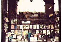 La petite boutique au coin de la rue / café, brasserie, boutique..etc.... / by Céline Blondelle