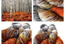 Yarn dye   Farging av garn
