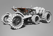 Sci fi vehicles