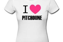 tee shirt I Love Pitchoune / http://legiux.spreadshirt.fr/i-love-pitchoune-I14703415