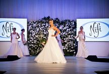Bridal Fashion Parades / Photos on stage and behind the scenes of various wedding and bridal expos that Nifi has been a part of!