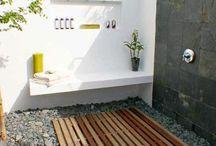Outside Bathroom Ideas
