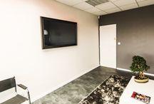 Miroir TV Bureau / TV miroir So Concept installés dans des bureaux