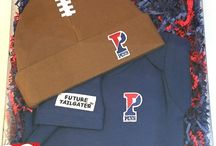 """Penn Quakers Baby / Future Tailgater offers awesome Penn Quakers baby apparel, accessories & gift sets for baby fans. Our items will make you smile cause they're """"Made to Play""""!"""