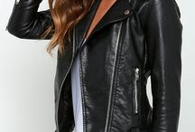 Vegan leather jackets