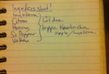 Recept / Idéer kring mat