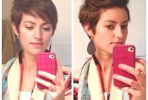 Haare stylen