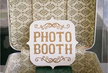 photobooth / backgrounds, signs and such