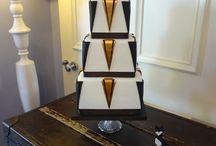 Art Deco Cakes / www.charlestoncakecompany.co.uk