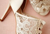 Inspiration | Wedding Shoes / A collection of the most beautiful bridal shoes for your aisle style.