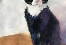 Cat Art / by Marie Symeou