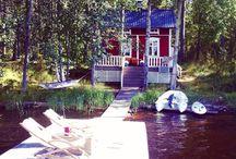 * I S L A N D L I F E * / our summer cottage in a Finnish island