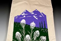 Konya Designs / Cards and T shirts printed with artwork by Sue Spanke of Missoula, Montana