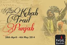 The Great Kebab Trail Punjab / 'The Great Kebab Trail' at Kebab Korner offers a wide array of exquisite Punjabi dishes!