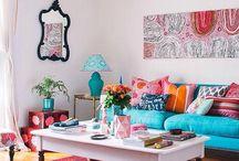 Obývák - miluj barvy!